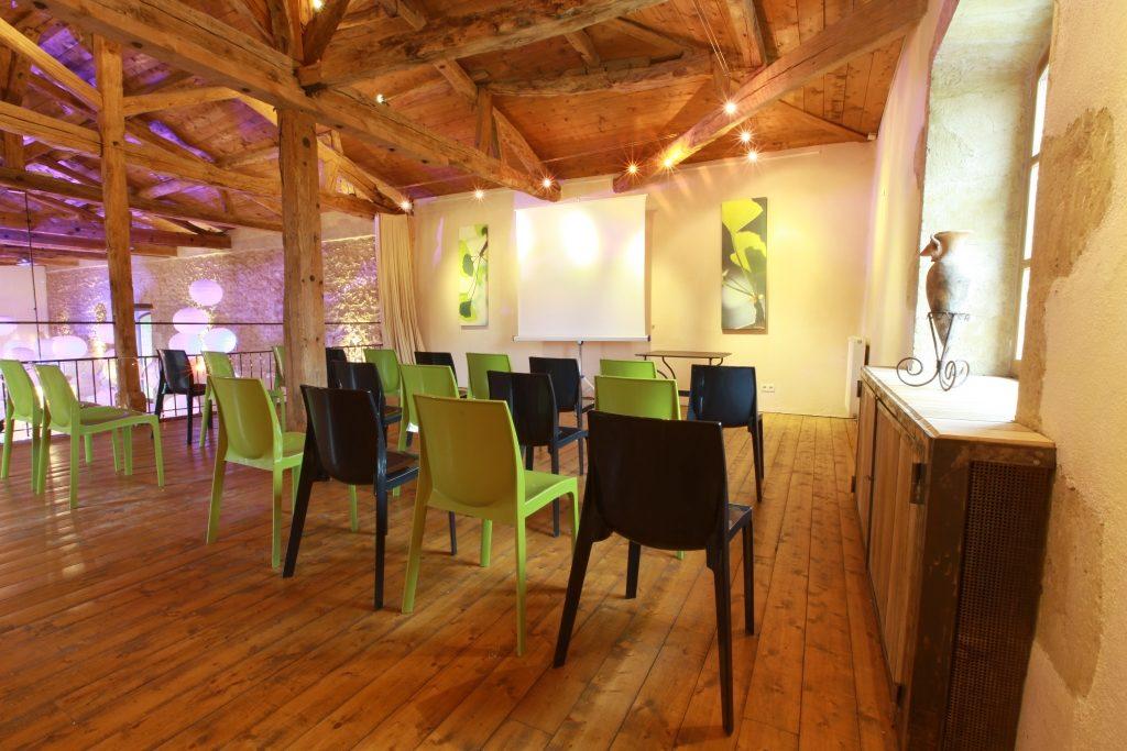 Mezzanine pour séminaires d'entreprises