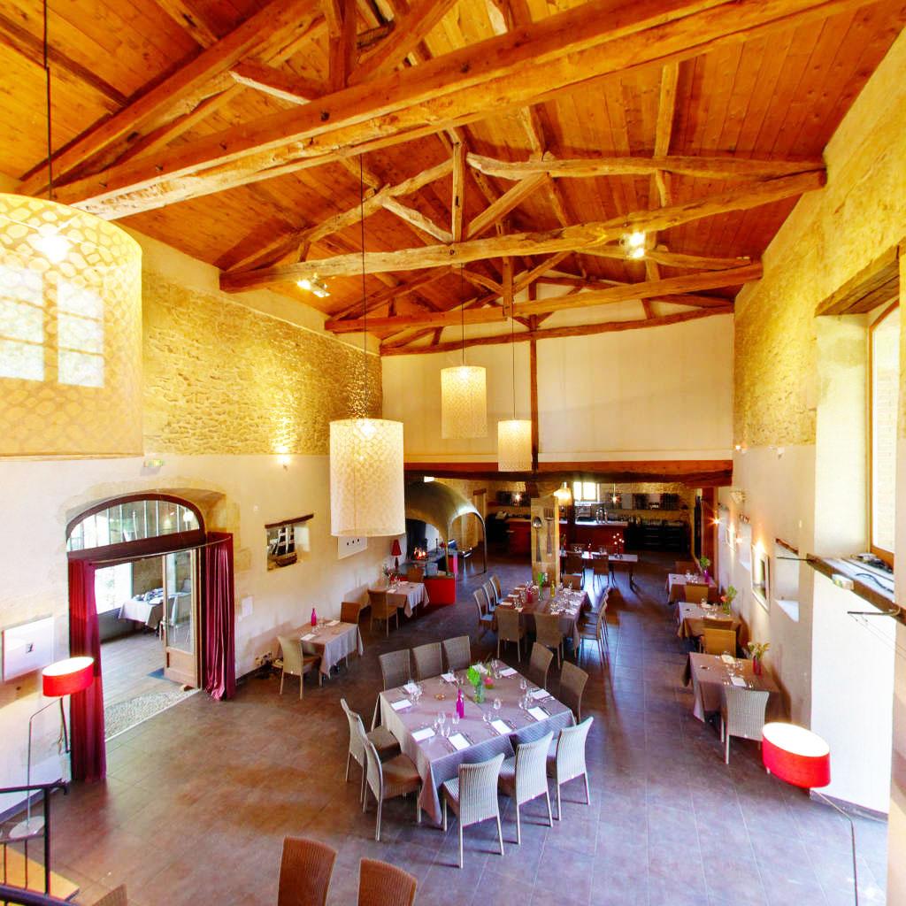 Salle restaurant- Le Château de Camille