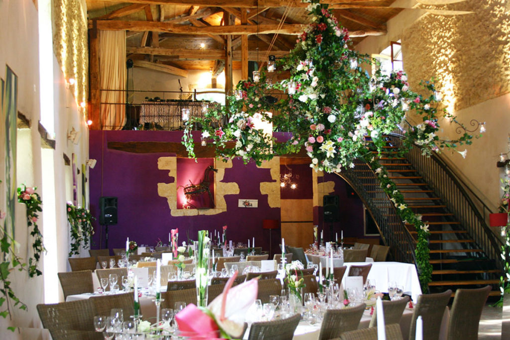 Salle décoration mariage